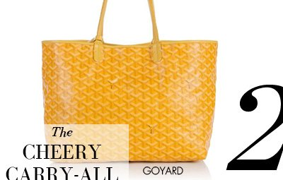 2 - The CHEERY CARRY-ALL GOYARD