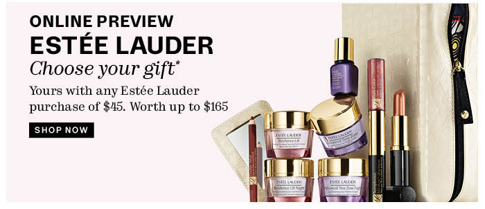 Online Preview. Estee Lauder. Shop Now.