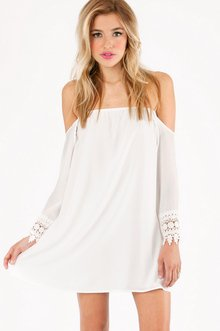 OPHELIA OFF SHOULDER DRESS 40