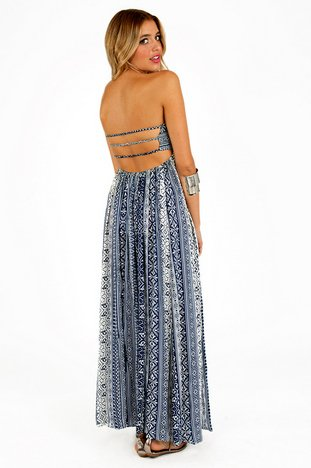 KATIE STRAPLESS MAXI DRESS 42