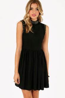 BRANDI SLEEVELESS STUDDED DRESS 44
