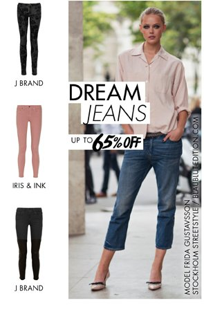 DREAM JEANS UP TO 65% OFF