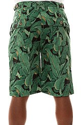 The Tropics Camp Shorts in Black
