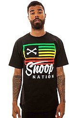 The Snoop Nation Tee in Black