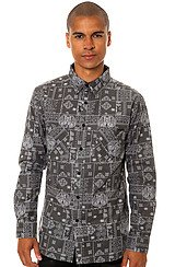 The Line Trip Buttondown Shirt in Print