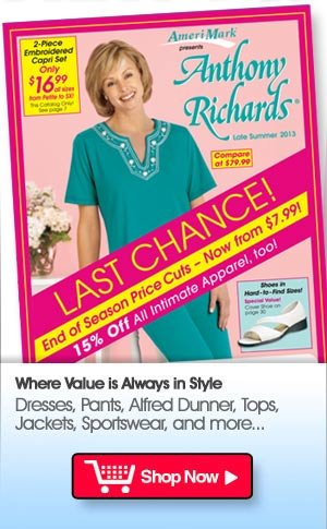 New Catalogs! New Products! Shop Anthony Richards Now >