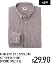 MEN EFC BROADCLOTH STRIPED SHIRT