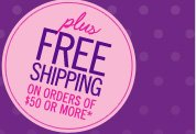 Free Shipping on Orders of $50 or More*