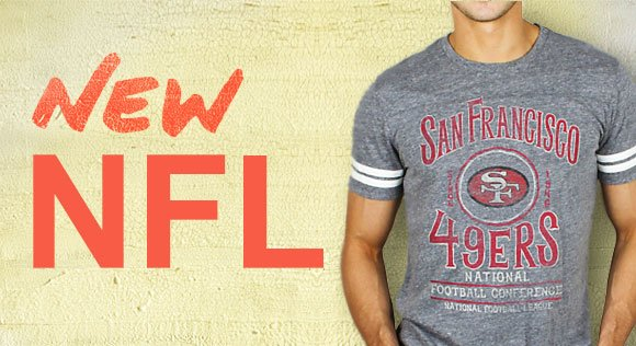 Shop New NFL Tees!
