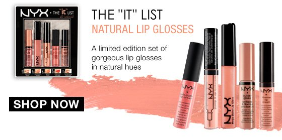 "The ""IT"" List Natural Lip Glosses"