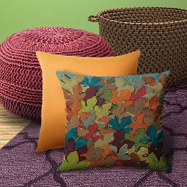 Harvest Hues: Home Textiles