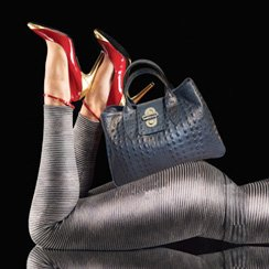 Giulia Leather Handbags. Made in Italy