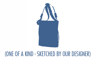 One of a kind - sketched by our designer