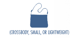 Crossbody, small or lightweight