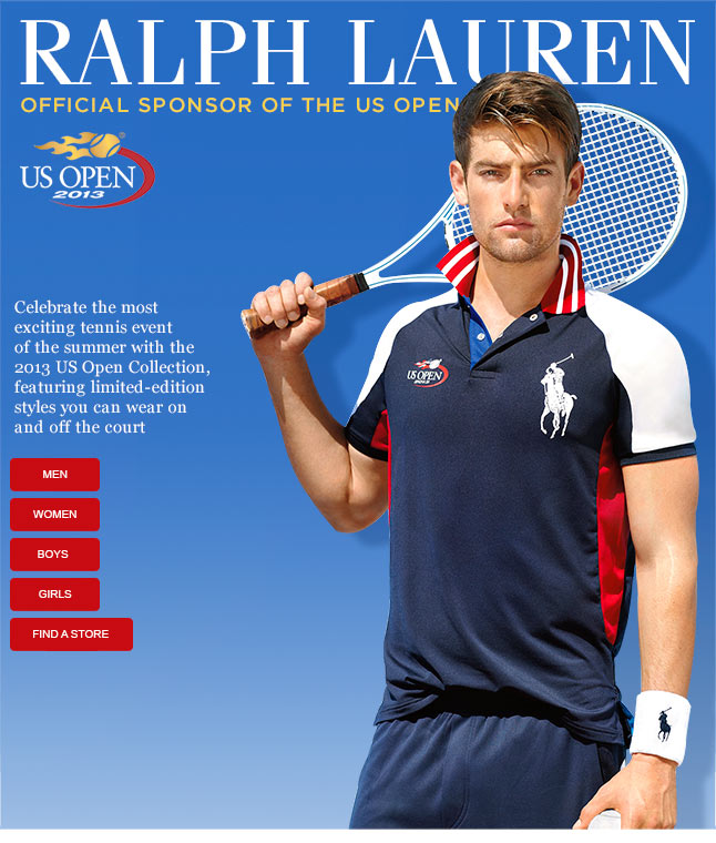 Be The First To Shop The Official US Open Collection