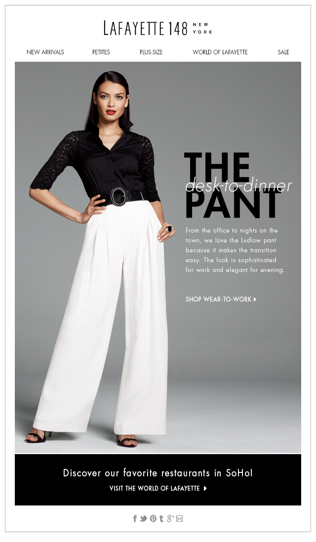 The Desk-to-Dinner Pant
