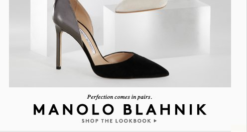 From Manolo Blahnik to Moreau: Your first stop to all things new is right here.