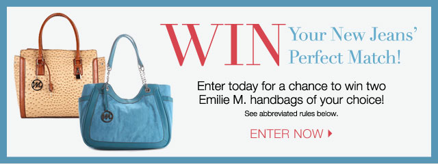 Win your new jeans' perfect match!