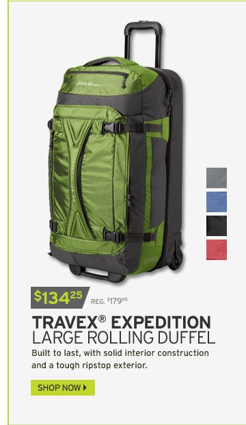Travex® Expedition Large Rolling Duffel
