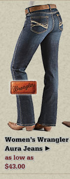 All Womens Wrangler Aura Jeans on Sale