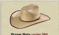 All Straw Hats Under 60 on Sale