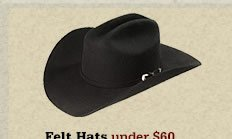 All Felt Hats Under 60 on Sale
