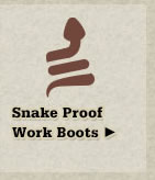 All Snake Proof Work Boots on Sale
