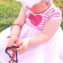 Handmade Amber Jewelry for Kids