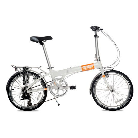 Life X7 Portable Folding Bike // Orange Decals