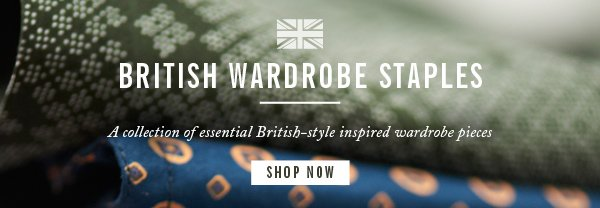 British Wardrobe Staples Collection