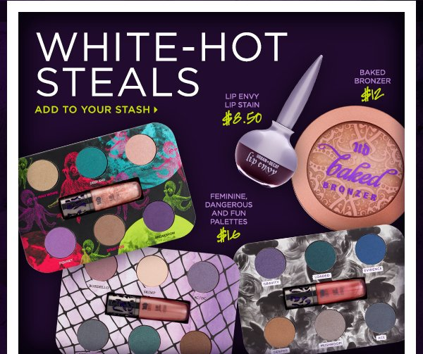 White-Hot Steals - Add To Your Stash >