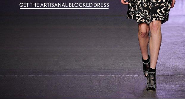 The Artisanal Blocked Dress