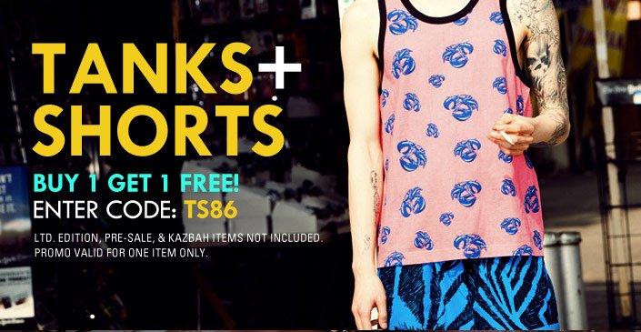 Tanks and Shorts BOGO