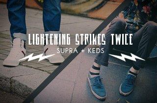 Supra + Keds