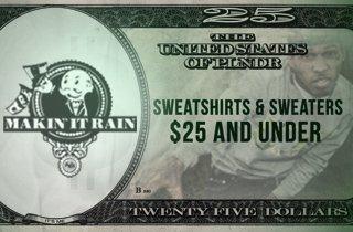 Sweatshirts & Sweaters: $25 & Under