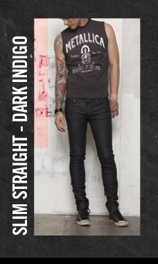 SLIM STRAIGHT - DARK INDIGO