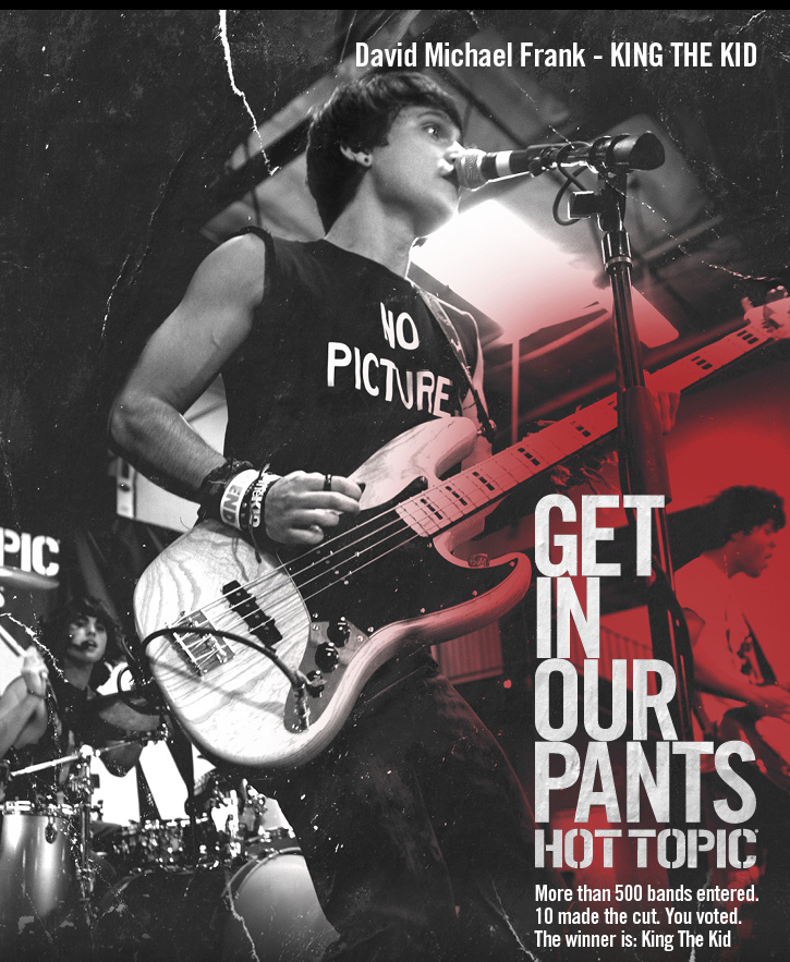 GET IN OUR PANTS - HOT TOPIC