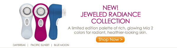 New! Jeweled Radiance Collection - A limited edition palette of rich, glowing Mia 2 colors for radiant, healthier-looking skin. Shop Now >