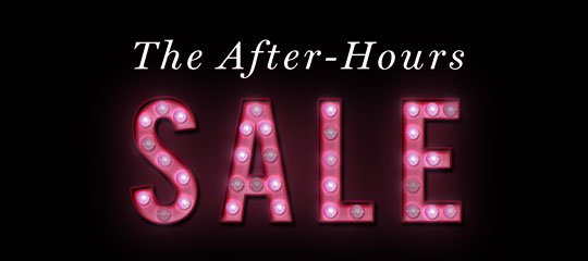 The After-Hours Sale