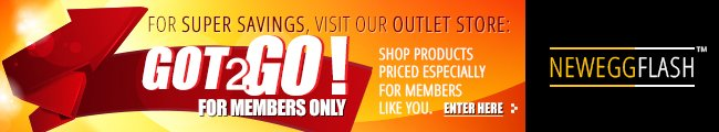 NeweggFlash - For Super Saving, visit our outlet store