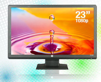 HP Smartbuy LV2311 Black 23 inch 5ms Widescreen LED-Backlit LCD Monitor.