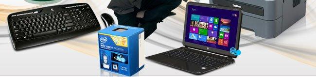 Keyboard, Printer, CPU, Notebook