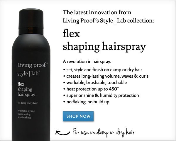 Living Proof Flex Shaping Hairspray: Shop our latest innovation