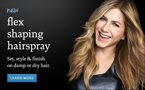 Living Proof Flex Shaping Hairspray: Set, style & finish on damp or dry hair