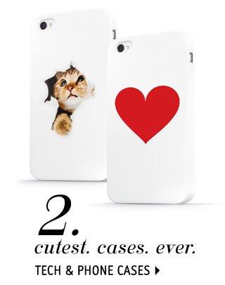TECH & PHONE CASES