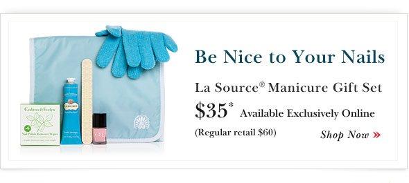 Shop La Source Manicure Gift Set.