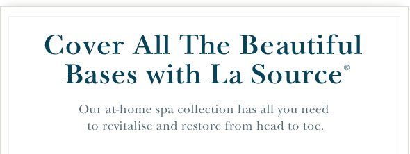 Cover All The Beautiful  Bases with La Source.