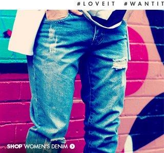 Shop ladies denim!