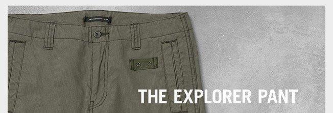 The Explorer Pant
