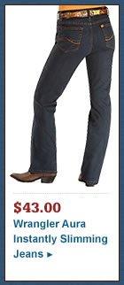 Wrangler Jeans - Aura Instantly Slimming